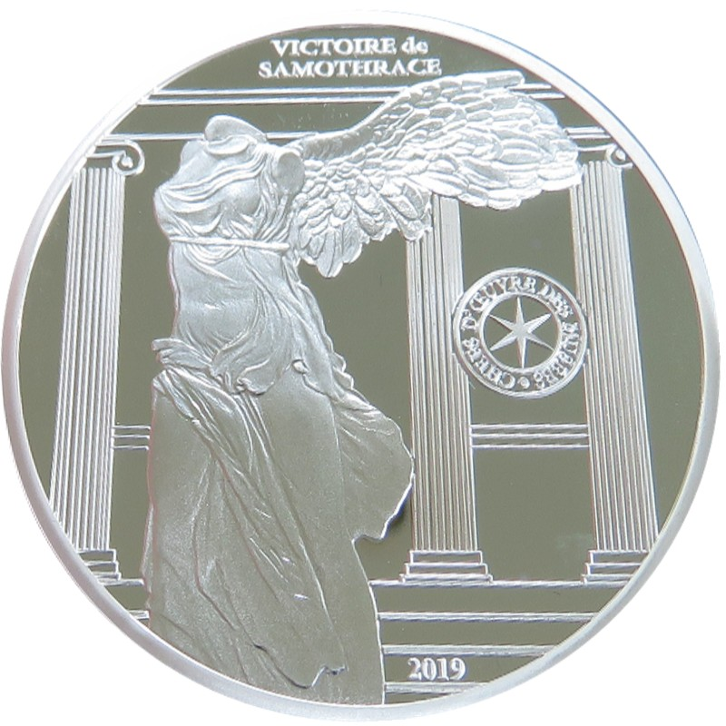 France - 10 Euro silver, VICTORY OF SAMOTHRACE, 2019