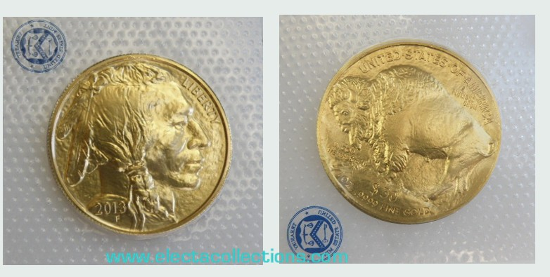 United States - Gold coin BU 1 oz, Buffalo, 2013