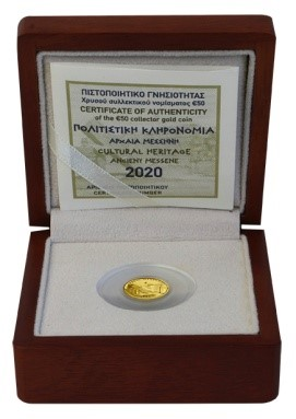Griechenland - 50 Euro gold, ANCIENT MESSENE, 2020