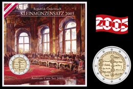 Austria - Official BU Set 2005