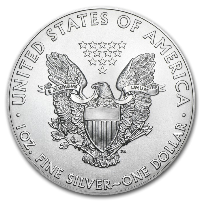 United States - Silver coin BU 1 oz, American Eagle, 2020