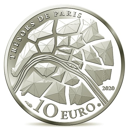 France - 10 Euro Ag BE, Champs-Elysees, 2020