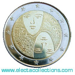 Finland - 2 Euro, universal and equal suffrage, 2006