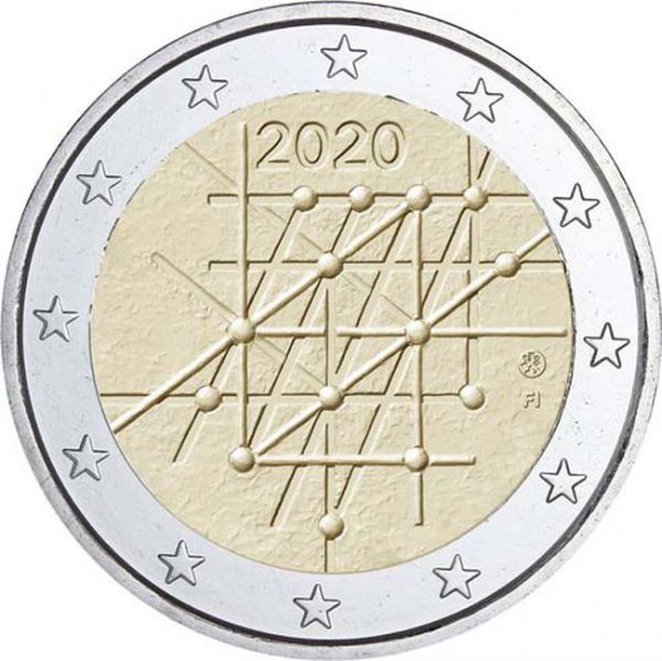 Finland – 2 Euro, 100 Years of the University of Turku, 2020