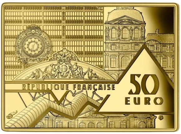 France - 50 Euro gold, GUERNICA - PICASSO, 2020