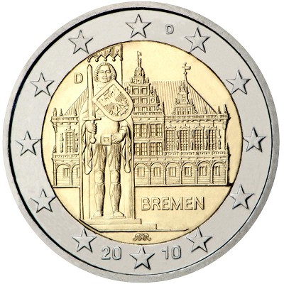 Germania - 2 Euro Bremen, 2010