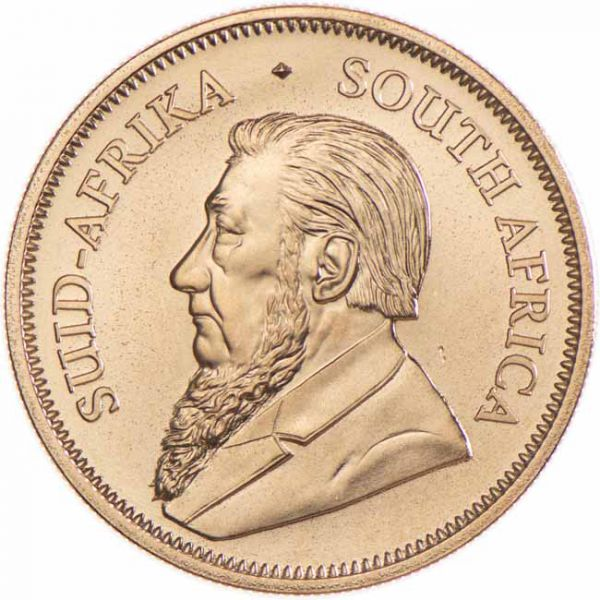 South Africa - Gold coin BU 1 oz, Krugerrand, 2021
