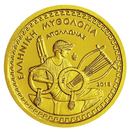 Greece - 100 Euro gold APOLLO, 2018