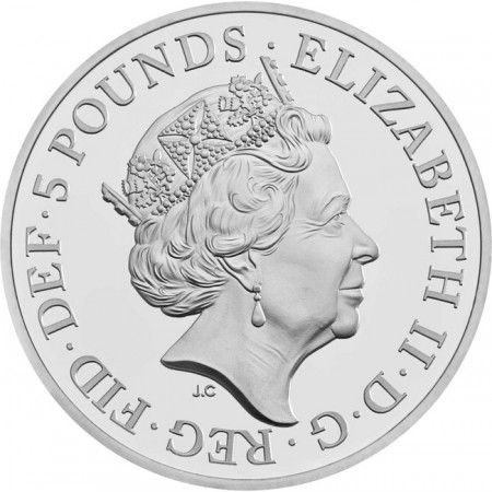 Gran Bretana - House of Windsor Silver proof coin, 2017