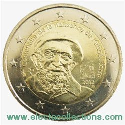 Frankreich 2 Euro Gedenkmünze Abbé Pierre 2012