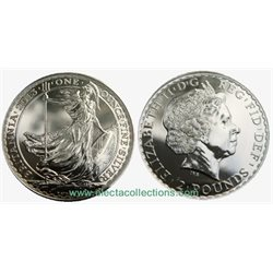 Royaume Uni - £2 Britannia One Ounce Silver Bullion, 2013