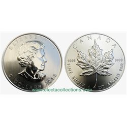 Canada - Silver coin BU 1 oz, Maple Leaf, 2013