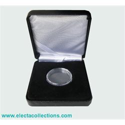 Coin box for 1 coin in capsule (ext. diametre 48 mm)