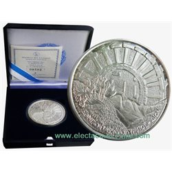 Greece - 10 Euro Silver Proof, Olympus National Park - Dion, 2006
