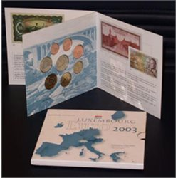Luxemburg - Official BU Set 2003