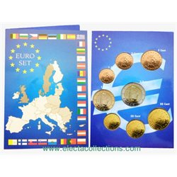 Luxembourg - Monnaies Euro, serie complete 2002