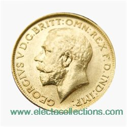 Great Britain - George V, Gold Sovereign AU, 1915 - London