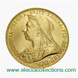 Great Britain - Victoria, Gold Sovereign XF, 1896 - M