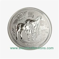 Australie - Piece d' argent 1/2 oz,  Year of the Horse, 2014