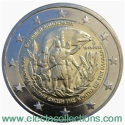 Greece – 2 Euro, union of Crete with Greece, 2013