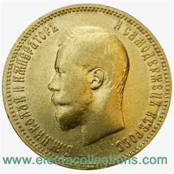 Russie - 10 Roubles Gold, Nicolas II, 1900