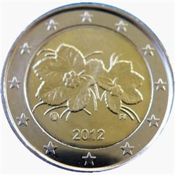 Finland - 2 Euro, Cloudberry, 2012 (in capsule)