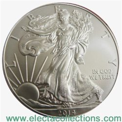 United States - Silver coin BU 1 oz, American Eagle, 2014