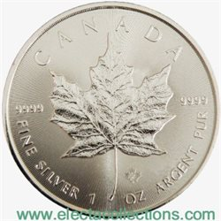 Canada - Silver coin BU 1 oz, Maple Leaf, 2014