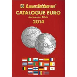 Euro coins catalogue, French edition 2014
