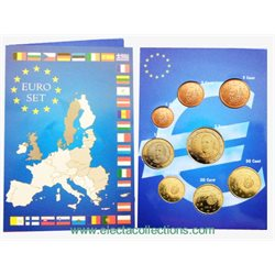 Spain - Euro coins, Complete UNC Set 2014