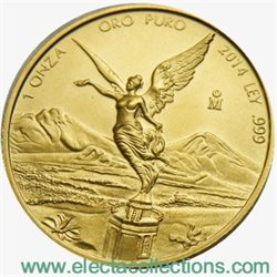 Mexico - Gold coin BU 1 oz, Libertad, 2014