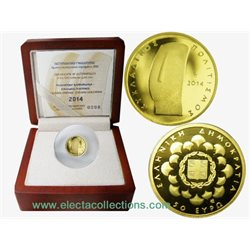 Greece - 50 Euro mini gold, CYCLADIC CIVILIZATION, 2014