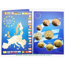 Cyprus - Euro coins, Complete set BU 2008