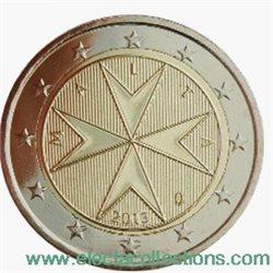 Malta 2 Euro Kursmunze Bu 2013