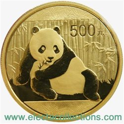 Chine - Gold coin BU 1 oz, Panda, 2015 (sealed)