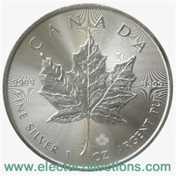 Canada - Silver coin BU 1 oz, Maple Leaf, 2015