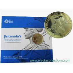 Great Britain - £2 Britannia BU Coin, 2015