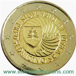 Slovakia – 2 Euro, Presidency Council of the EU, 2016
