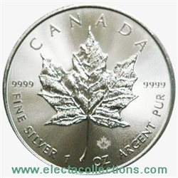 Canada - Silver coin BU 1 oz, Maple Leaf, 2016