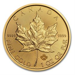 Canada - Gold coin BU 1 oz, Maple Leaf, 2016