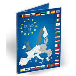 Coin Card for 1 Euro coin set (pack of 10)
