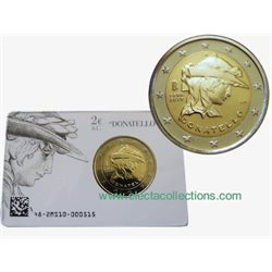 Italie - 2 Euro DONATELLO, 2016 (coin card)