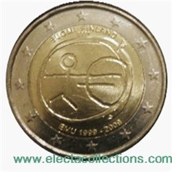 Finland – 2 Euro, 10th Anniversary of the Euro, 2009