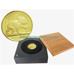 Australia - moneta d'oro 1/4 Oz PROOF, KOALA, 2016