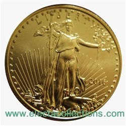 United States - Gold coin BU 1/4 oz, American Eagle, 2016