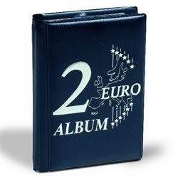 Pocket album for 48 2 Euro coins