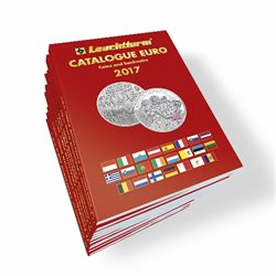 Euro coins catalogue, English edition 2017
