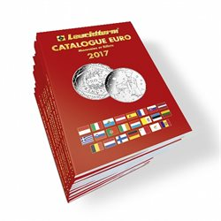 Euro coins catalogue, French edition 2017
