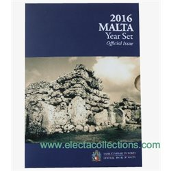 Malta - Official Euro coin set BU 2016 + 2€ Ggantija