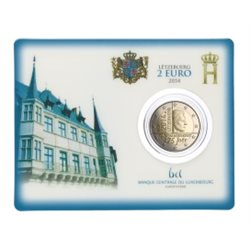 Luxembourg - 2 Euro, independance, 2014 (coin card)